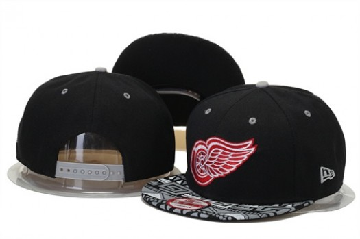 Detroit Red Wings Men's Stitched Snapback Hats 006