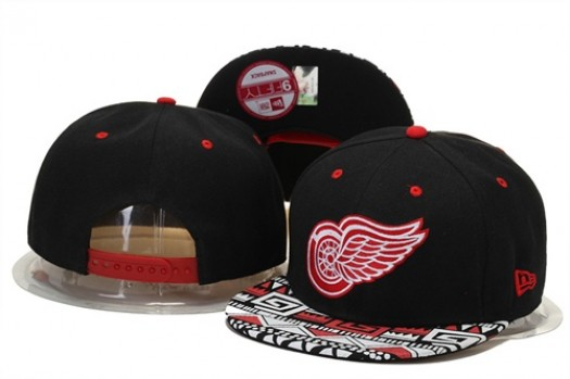 Detroit Red Wings Men's Stitched Snapback Hats 007