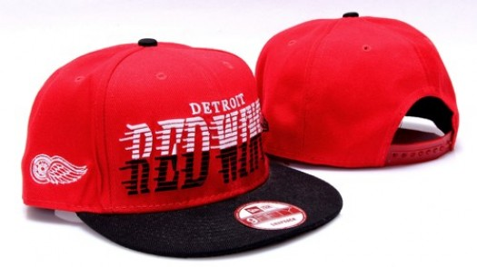 Detroit Red Wings Men's Stitched Snapback Hats 008