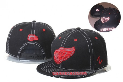 Detroit Red Wings Men's Stitched Snapback Hats 012